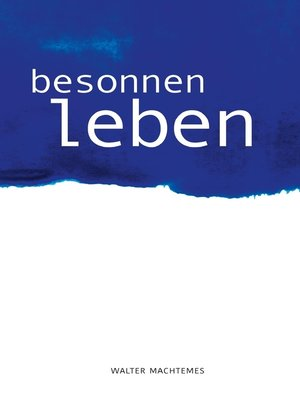 cover image of Besonnen Leben