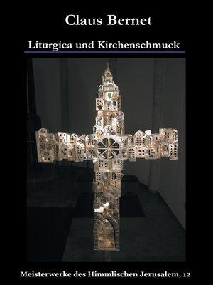 cover image of Liturgica und Kirchenschmuck
