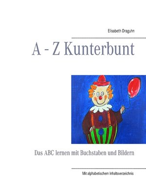cover image of A--Z Kunterbunt