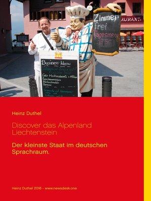 cover image of Discover das Alpenland Liechtenstein