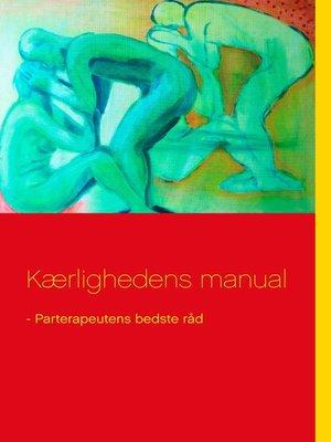 cover image of Kærlighedens manual