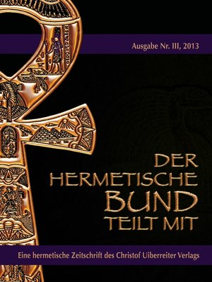 cover image of Der hermetische Bund teilt mit