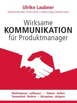 cover image of Wirksame Kommunikation für Produktmanager