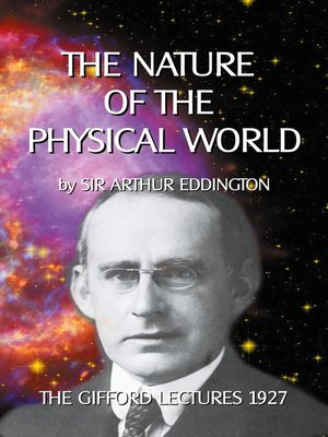 cover image of The nature of the physical world