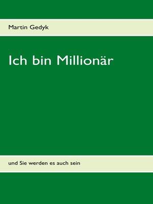 cover image of Ich bin Millionär