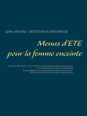 cover image of Menus d'été pour la femme enceinte