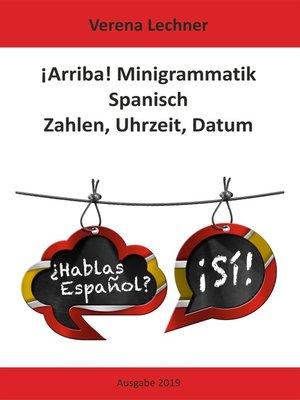 cover image of ¡Arriba! Minigrammatik Spanisch
