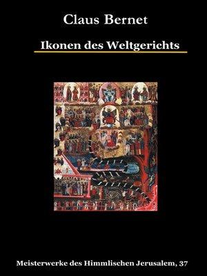 cover image of Ikonen des Weltgerichts