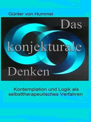 cover image of Das konjekturale Denken