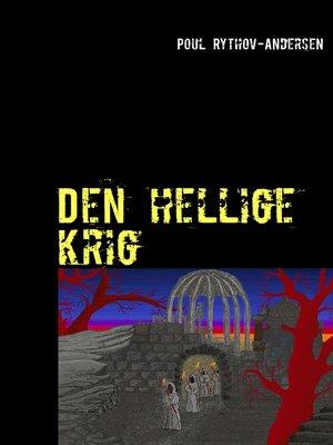 cover image of Den hellige krig
