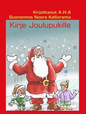 cover image of Kirje Joulupukille