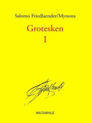 cover image of Grotesken I