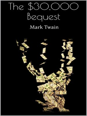 cover image of The $30,000 Bequest