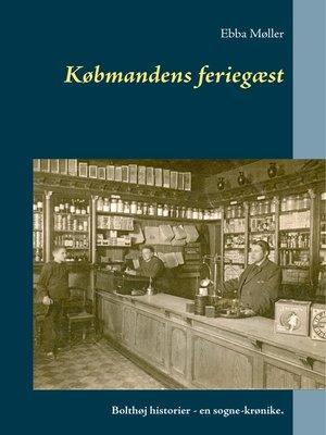 cover image of Købmandens feriegæst