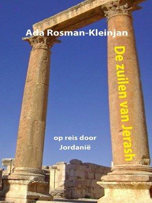 cover image of De zuilen van Jerash