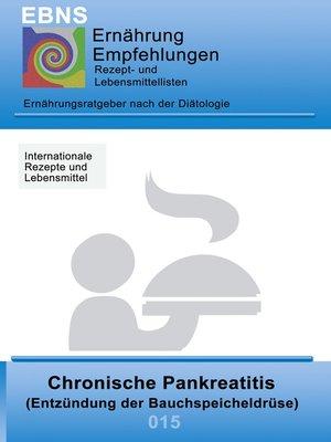 cover image of Ernährung bei chronischer Pankreatitis