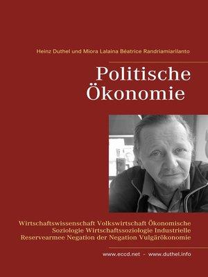 cover image of Politische Ökonomie