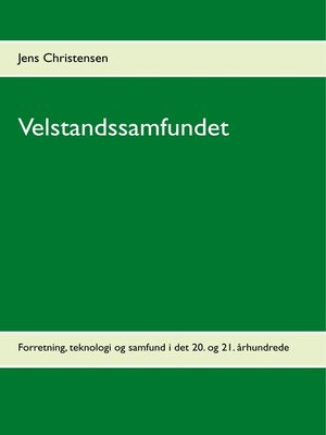 cover image of Velstandssamfundet