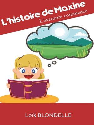 cover image of L'histoire de Maxine