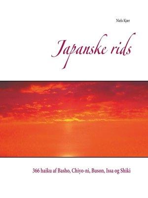 cover image of Japanske rids