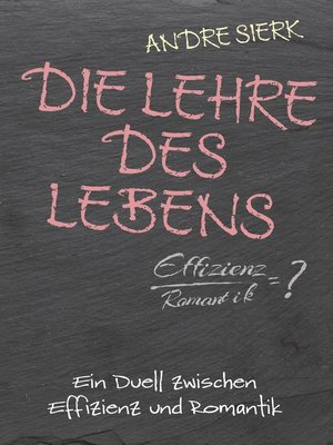 cover image of Die Lehre des Lebens