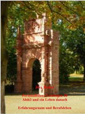 cover image of Personalbilanz Lesebogen 38 Abi63 und ein Leben danach
