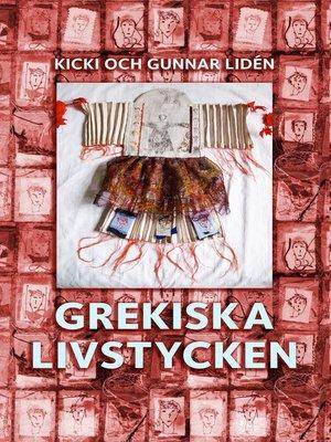 cover image of Grekiska livstycken