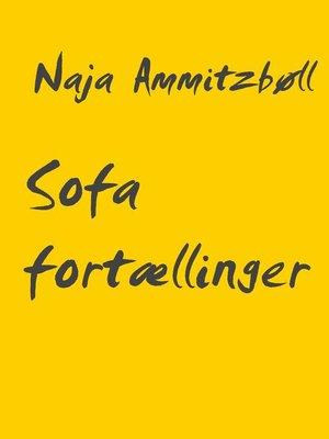 cover image of Sofa fortællinger