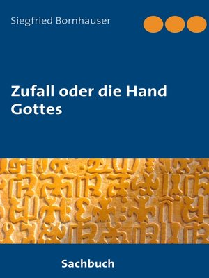 cover image of Zufall oder die Hand Gottes
