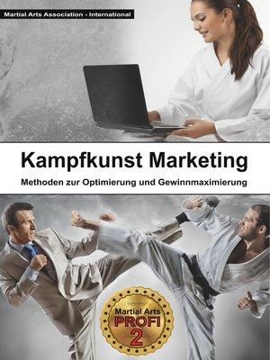 cover image of Kampfkunst Marketing