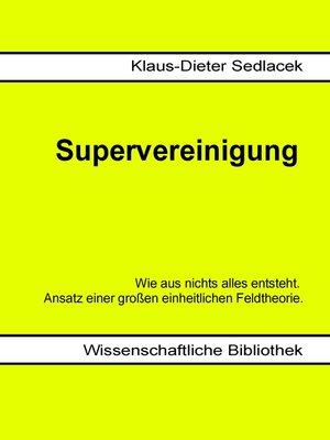 cover image of Supervereinigung