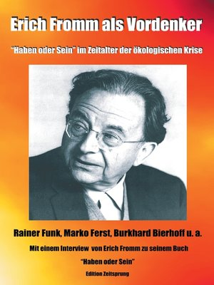 erich fromm essay Name institution instructor course date the art of loving by erich fromm in order to become a master of love, erich fromm presents a secular point of view descr.