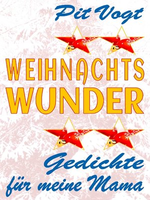 cover image of Weihnachts Wunder