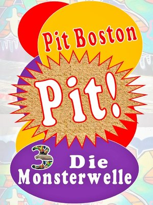 cover image of Pit! Die Monsterwelle