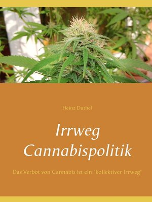 cover image of Irrweg Cannabispolitik