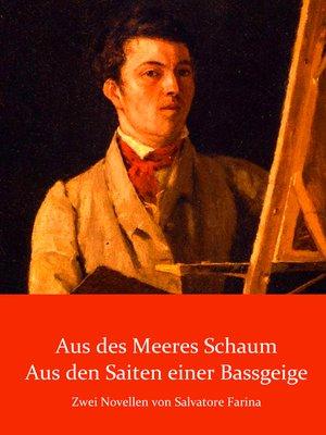 cover image of Novellen