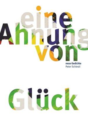 cover image of Eine Ahnung von Glück