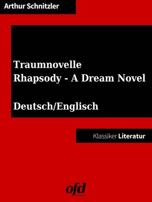 cover image of Traumnovelle--Rhapsody--A Dream Novel