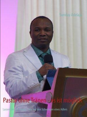 cover image of Pastor ohne Tränen--es ist möglich