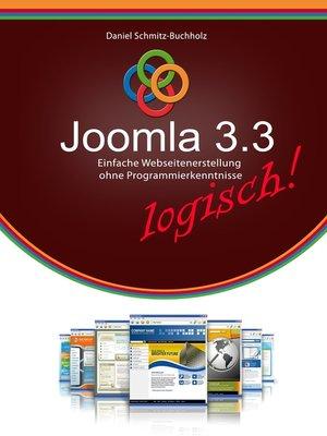 cover image of Joomla 3.3 logisch!