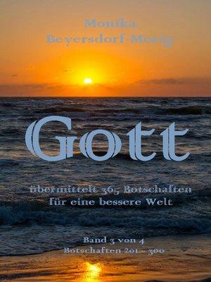 cover image of Gott übermittelt 365 Botschaften  Band 3