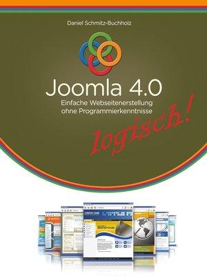 cover image of Joomla 4.0 logisch!