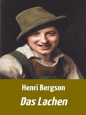 cover image of Das Lachen