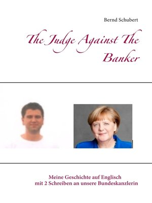 cover image of The Judge Against the Banker