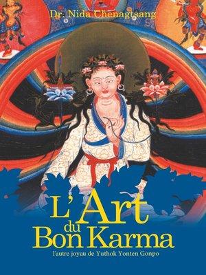 cover image of L'art du bon Karma