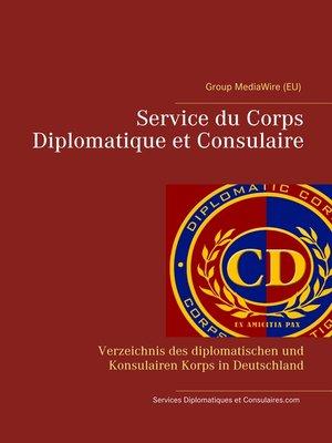 cover image of Service du Corps Diplomatique et Consulaire