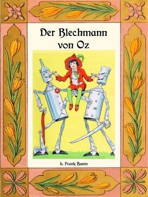 cover image of Der Blechmann von Oz--Die Oz-Bücher Band 12