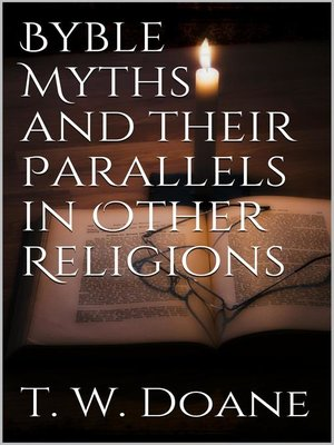 cover image of Bible Myths and their parallels in other Religions