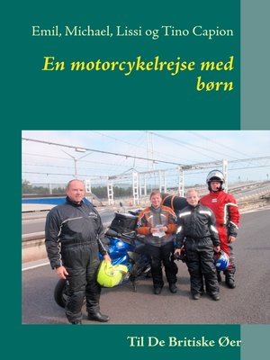 cover image of En motorcykelrejse med børn