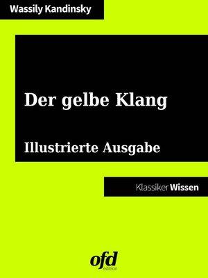 cover image of Der gelbe Klang
